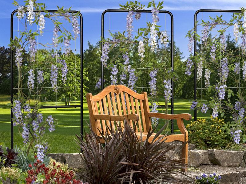 Greenway Trellis Free Standing Trellises In Garden